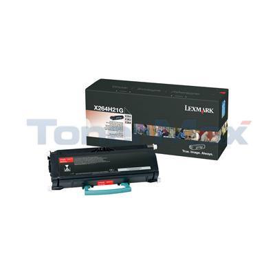 LEXMARK X264DN TONER CART BLACK 9K